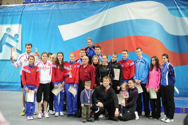 Чемпионат России по бадминтону 2012